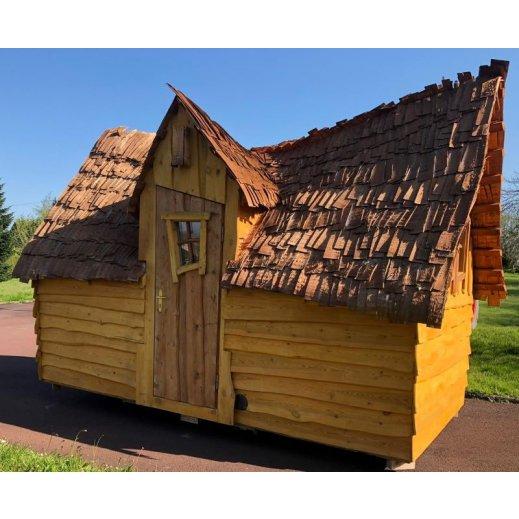 cabane ferique enchanteel, isolée