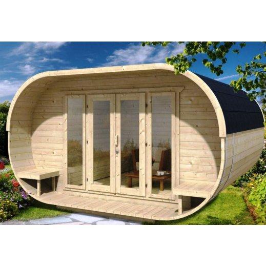 Camping cabane OVAL bois