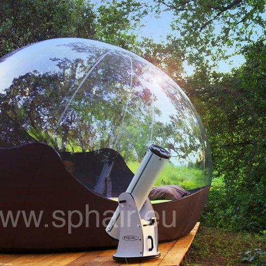 Sphair 3m, la nuit à la belle étoile