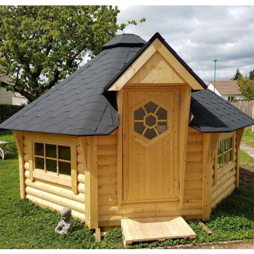 Superbe KOta Finalndais ou éco-house moderne en bois !