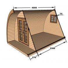 Camping POD Kit 4m ≈ 9m²
