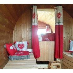 Camping tonneau 4m80 monté équipé