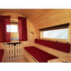 Camping tonneau suite 4m40 ≈ 8m²