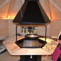 Kota grill 12m² octogonal