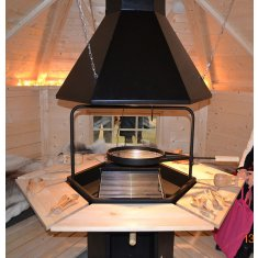 Kota grill 6m² - hexagonal