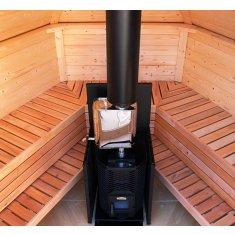 Kota Sauna 6m² - hexagonal