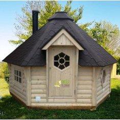 Kota Sauna 9m² - hexagonal