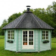 Pavillon de jardin ≈ 9m²  hexagonal