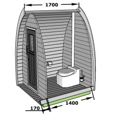 POD toilettes sèches deluxe