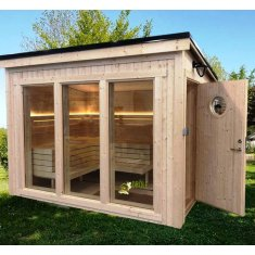 Sauna Cube kit full