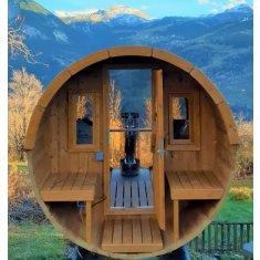 Tonneau Sauna 250 (DELUXE)