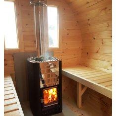Tonneau Sauna 3m 4 pers.