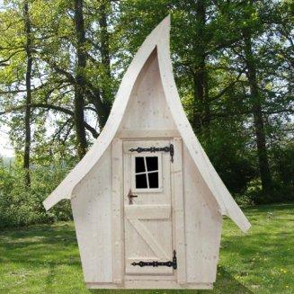Dr le de cabane vente d 39 abris de jardin ludiques cabanes - Cabine de plage en bois pour jardin ...